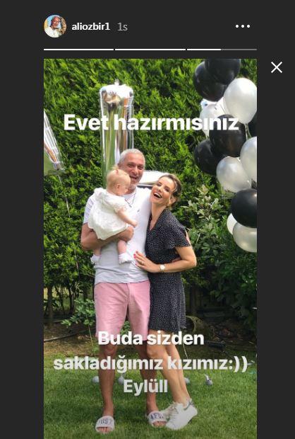Esra Erol Un Idris Ali Sine Erken Dogum Gunu Kutlamasi