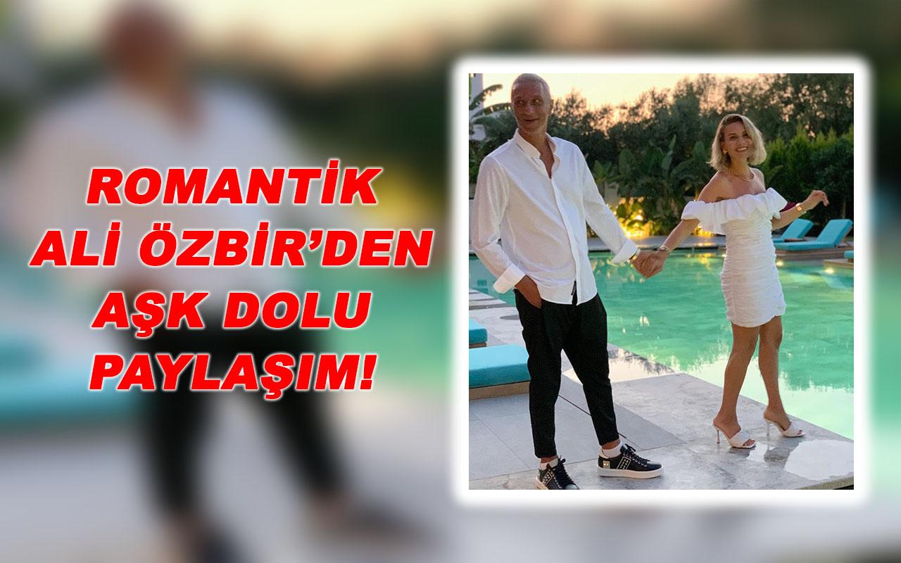 Esra Erol'a Eşi Ali Özbir'den Romantik Aşk Paylaşımı!