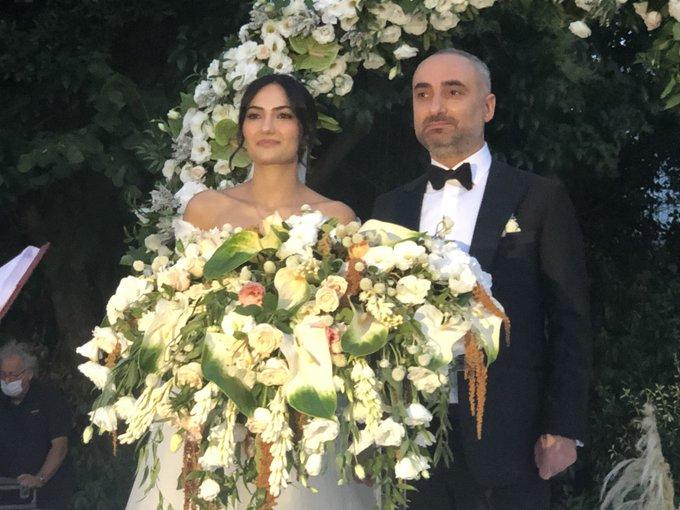 ismail saymaz evlendi