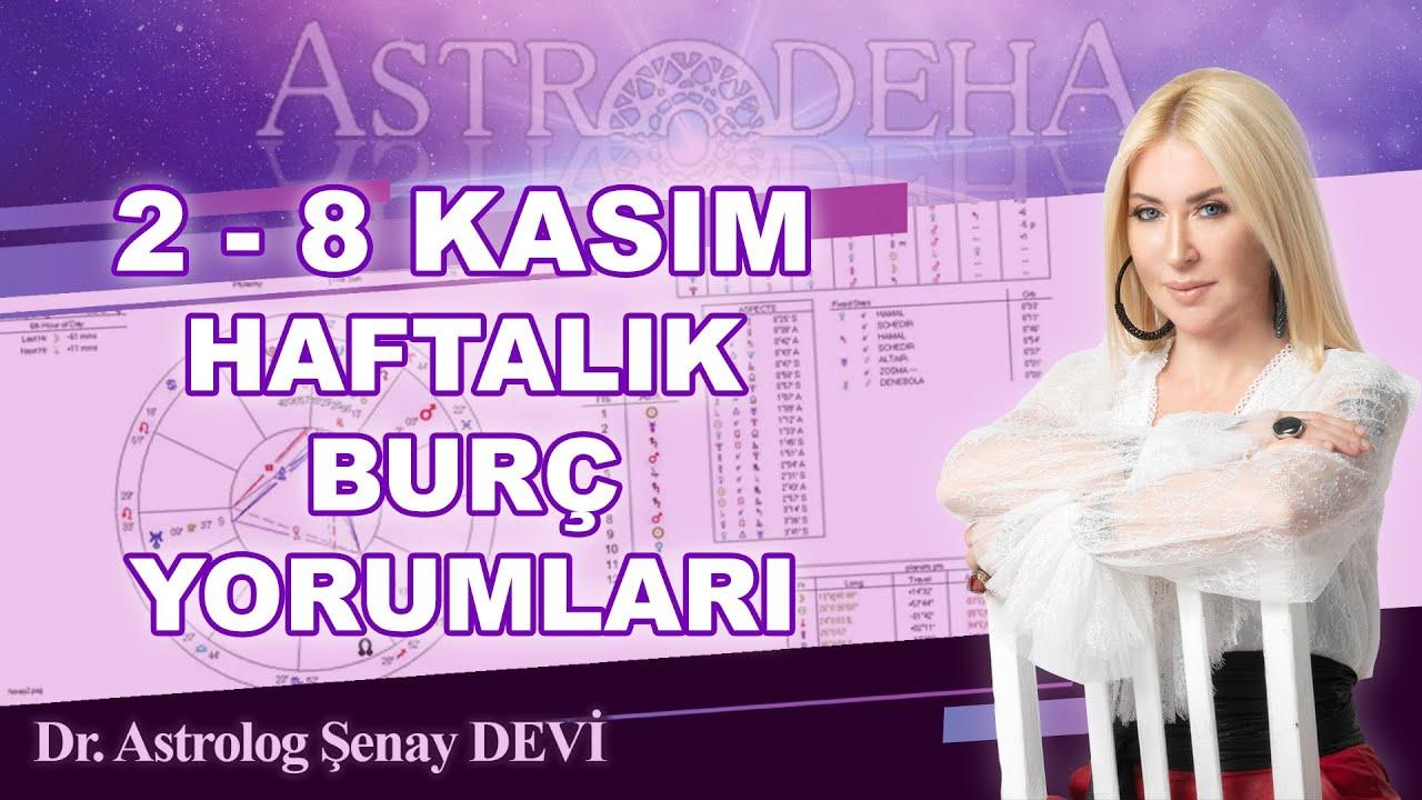 Astrolog Şenay Devi 2-8 Kasım Haftalık Burç Yorumları