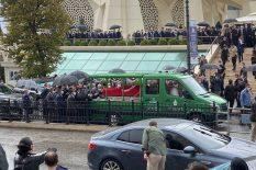 Cumhurbaşkanı Recep Tayyip  Erdoğan, İsmet Uçma'nın cenazesine katıldı
